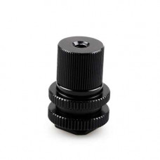 Элементы крепления Kupo KS-041 Hot Shoe Adapter 3/8-1/4 W/Barrel Adapter, арт.KS-041